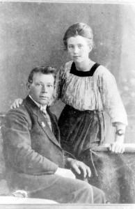 Eltjo Siemens en zijn vrouw